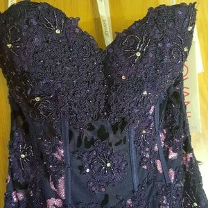 Jovani Dresses - JOVANI, NEW WITH TAGS! Deep Purple Prom Gown